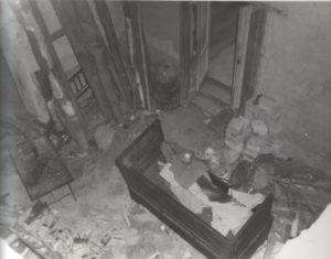 1947-La villa danneggiata dal conflitto mondiale