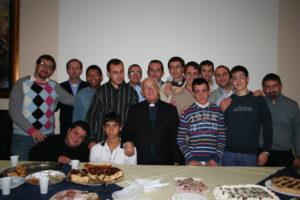 2010-Direttore e giovani seminaristi