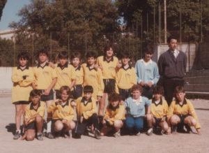 1986-Squadra calcio alunni