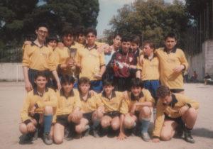 1987-Squadra calcio alunni