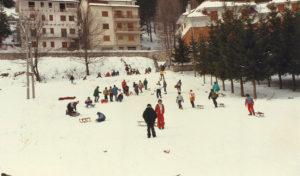 1989-Gita sulla neve a Roccaraso