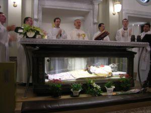 2006-Pellegrinaggio sulla tomba del Padre Fondatore