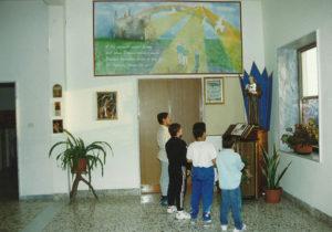 1992-Ragazzi antoniani in preghiera