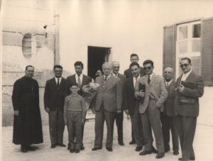 1949-Benefattori in visita all'Istituto