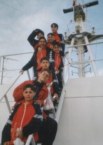 2000-Visita a nave da crociera