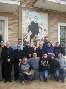 2014-Cardinale Sepe in visita all'Istituto