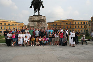 2008-Missione in Albania