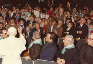1985-Udienza dal Santo Padre